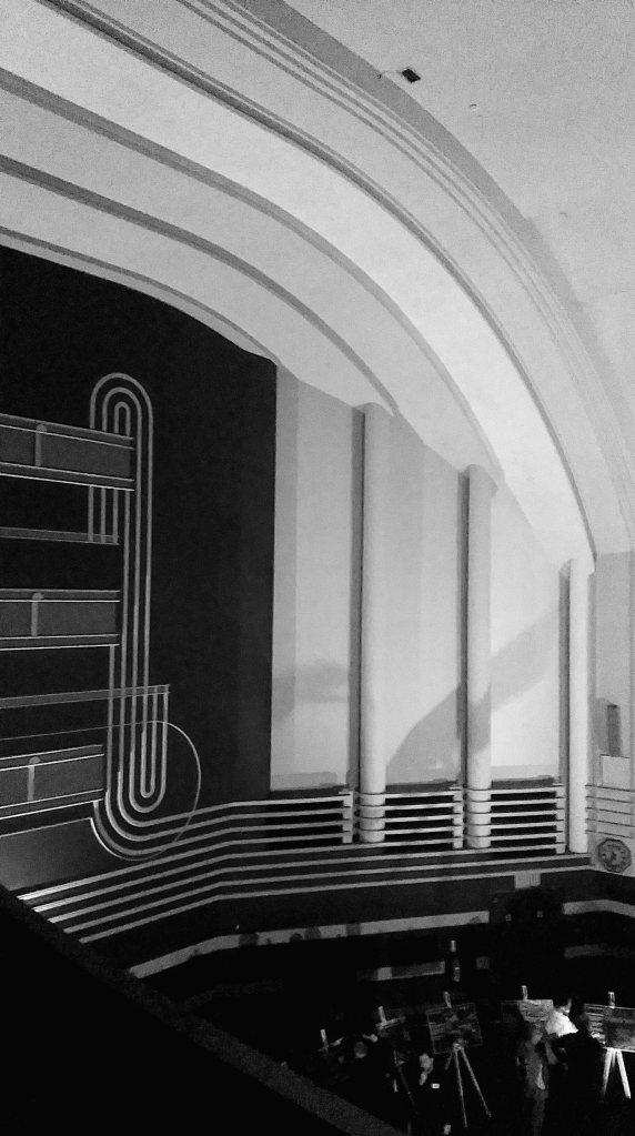 Odeon interior main auditorium