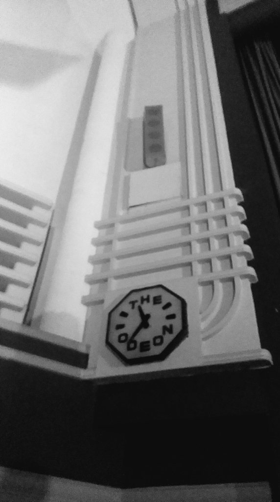 Odeon main auditorium clock