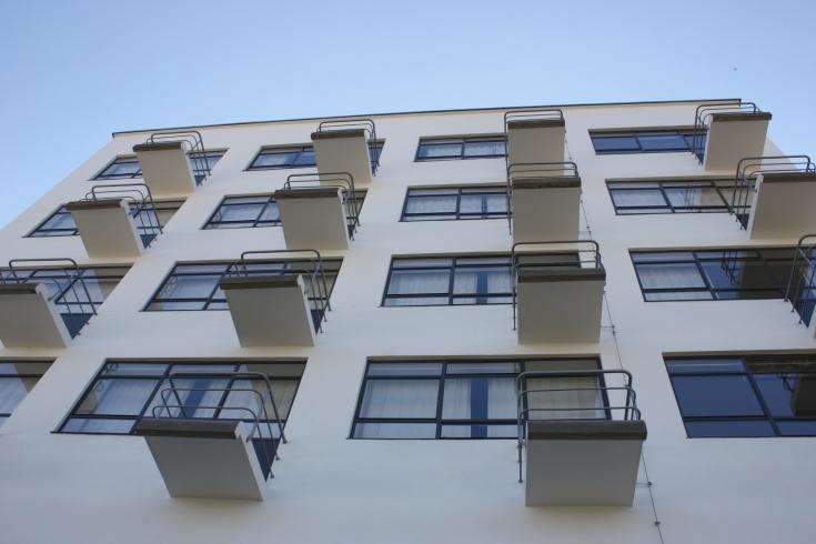 Bauhaus Dessau balcony detail