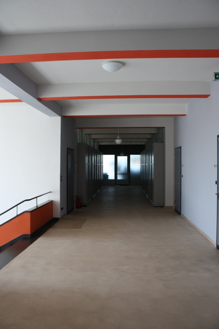 Bauhaus Dessau corridor detail