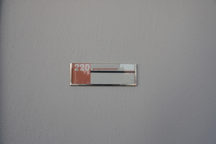 Bauhaus Dessau Gropius Room