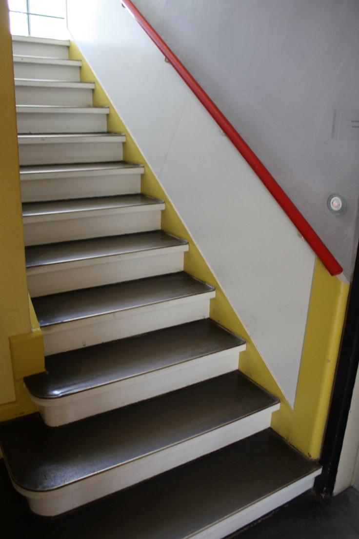 Bauhaus Dessau Kandinsky Klee house stair detail