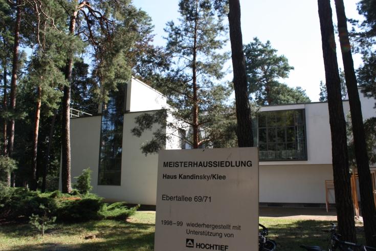 Bauhaus Dessau Kandinsky Klee house