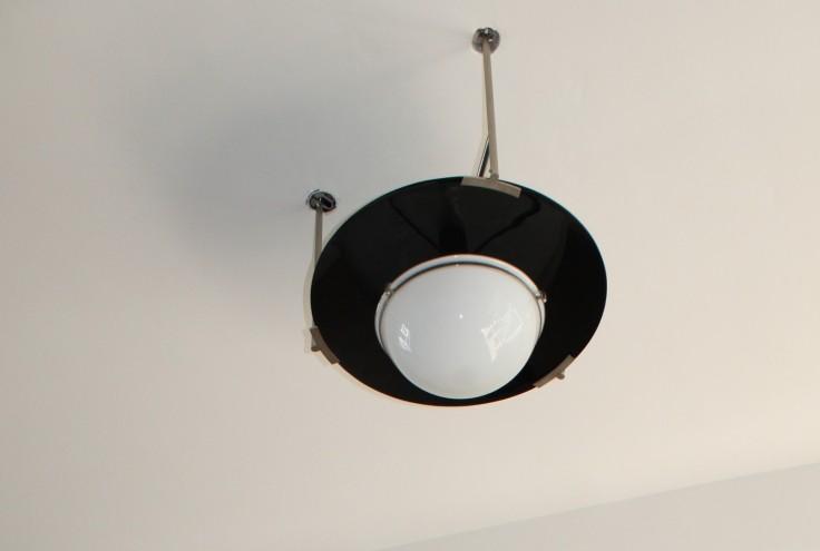 Bauhaus Dessau lamp detail