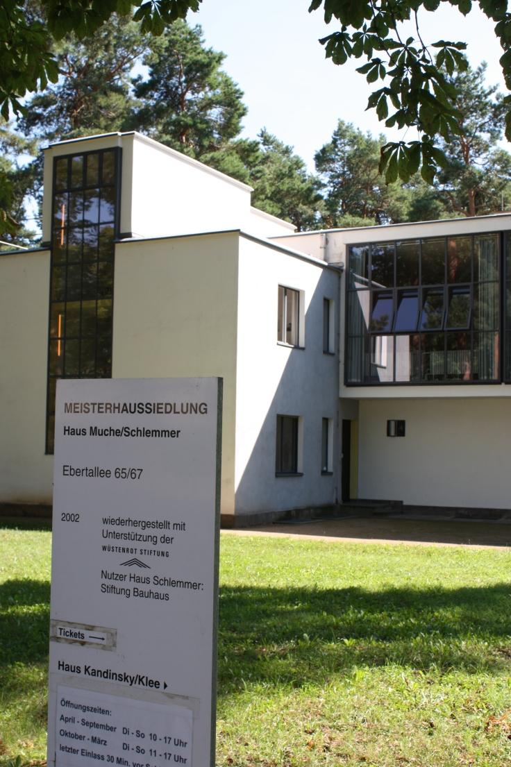 Bauhaus Dessau Schlemmer house