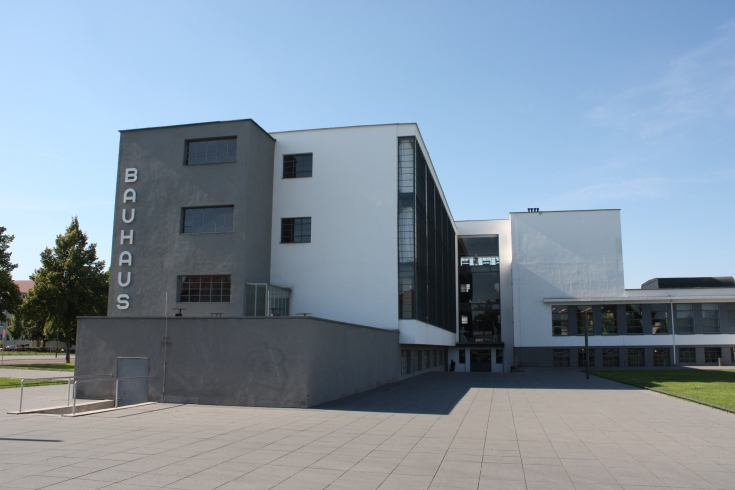 Bauhaus Dessau side elevation