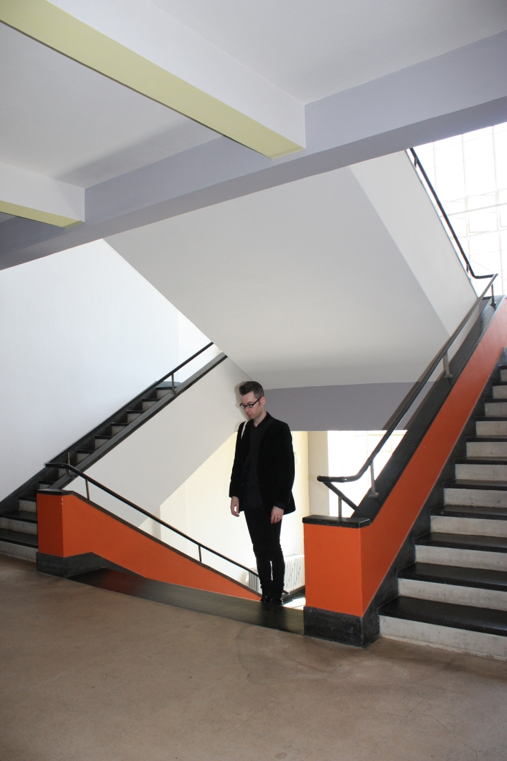 Bauhaus Dessau stair detail