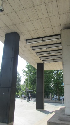 Shell Haus canopy