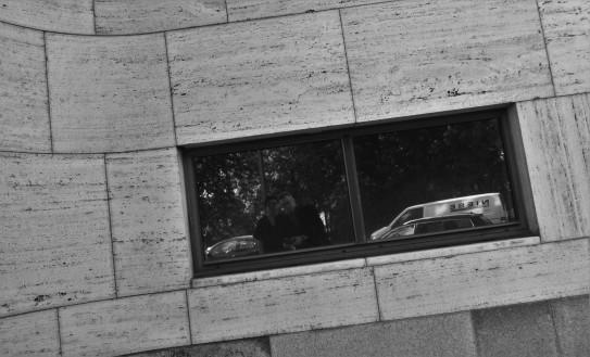 Shell Haus window
