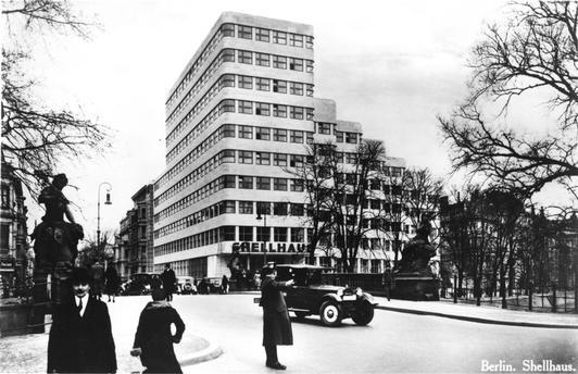 shell haus berlin germany 1932 modernist tourists. Black Bedroom Furniture Sets. Home Design Ideas