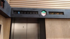 Simpsons lift indicator
