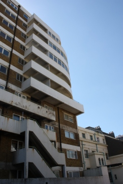 Marine Court North West balconies