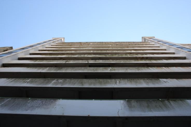 Marine Court rear balconies
