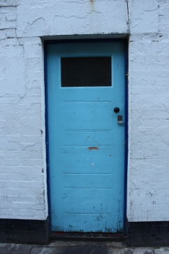 Marine Court Rear Door