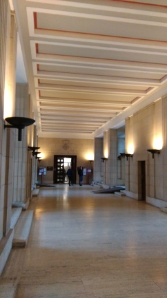 Senate House lobby