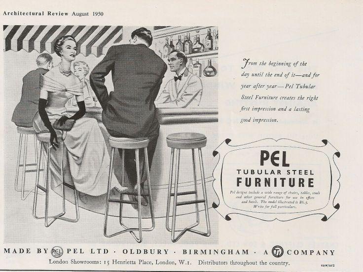 PEL bar stools advert