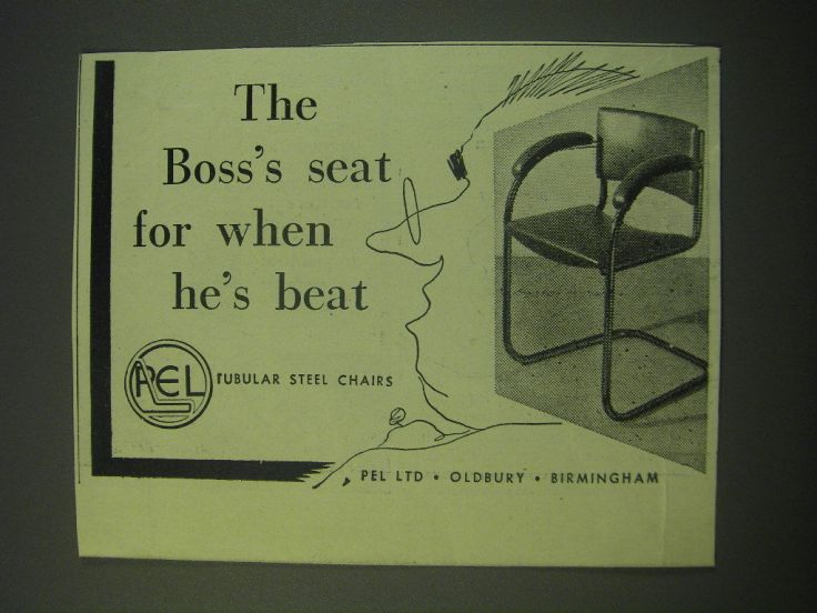 pel-bosses-chair-advert