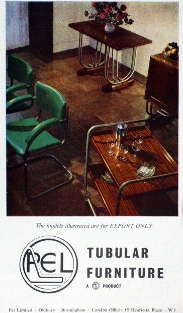PEL furniture export only advert