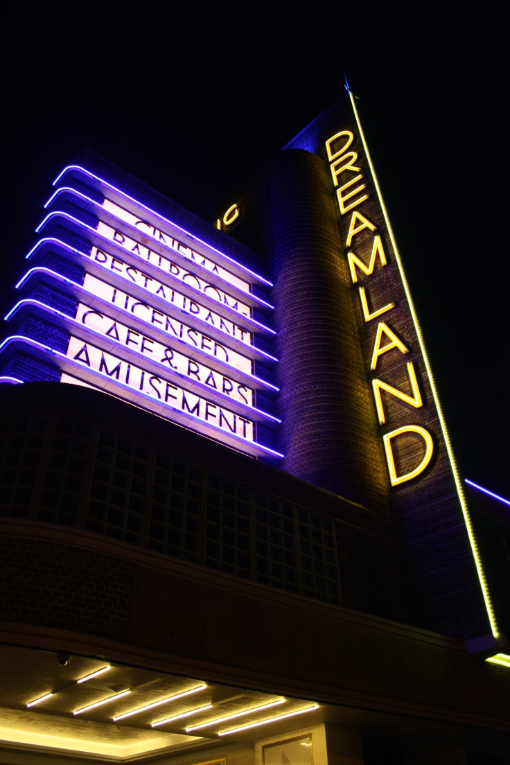 Dreamland cinema at night