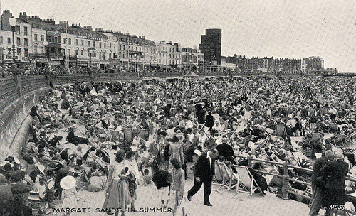Margate seafront with Dreamland2