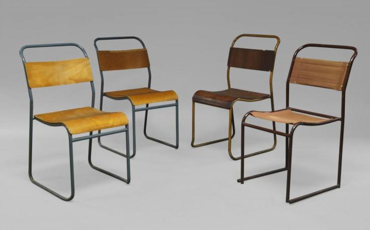 Assorted PEL stacking chairs