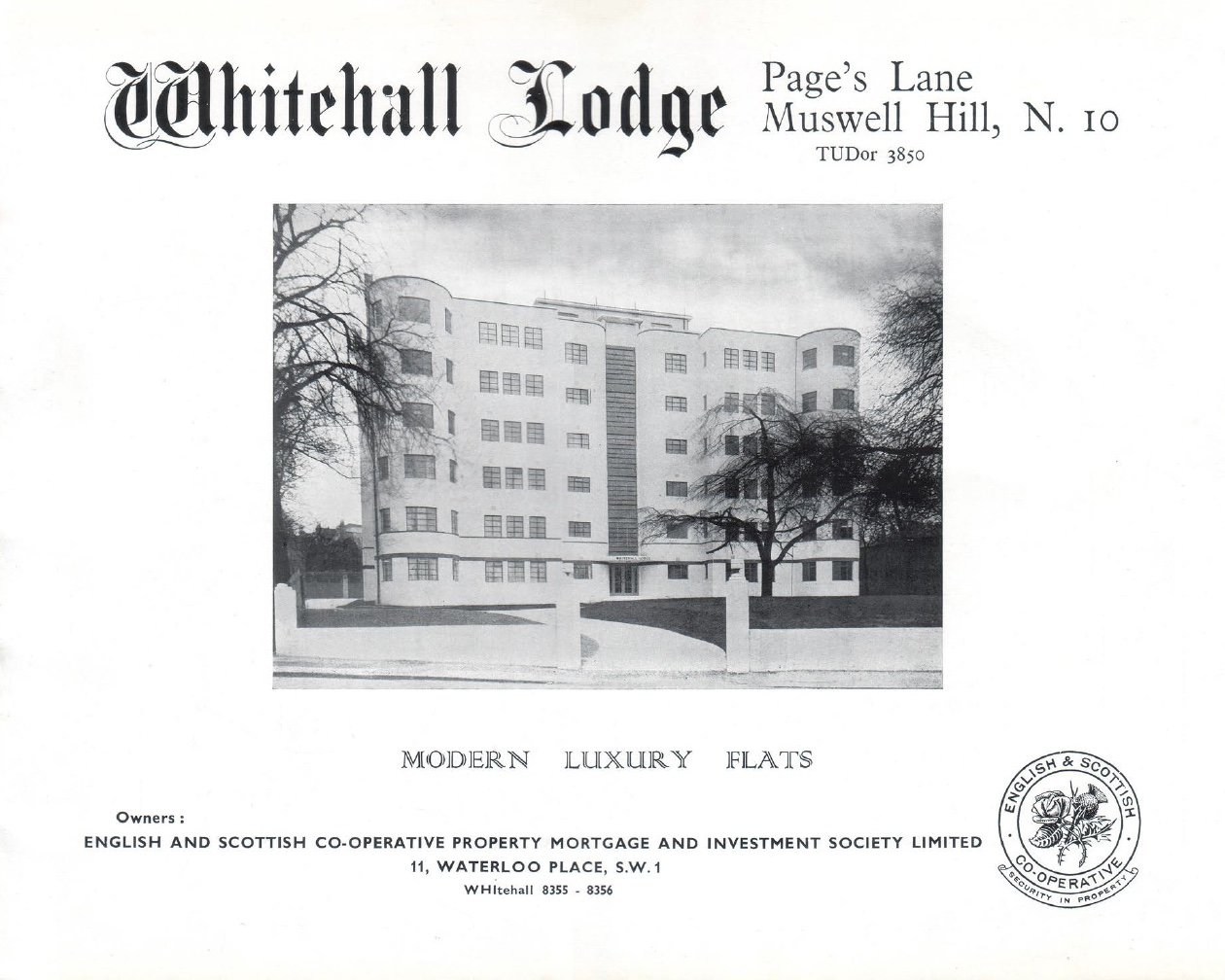 Whitehall brochure cover