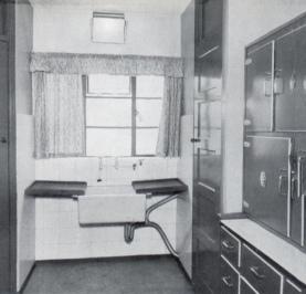 Whitehall original kitchen