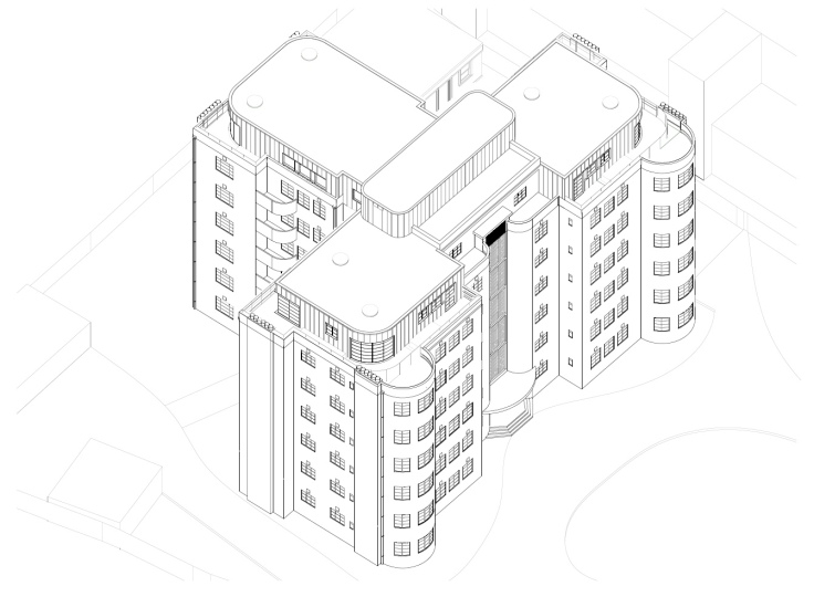 Whitehall Proposed Isometric